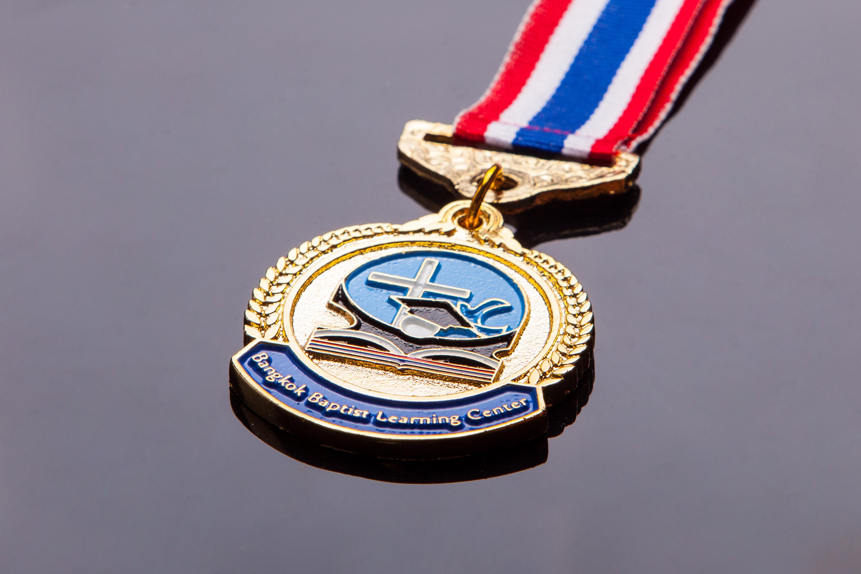 เหรียญตะกั่วสีทอง G001