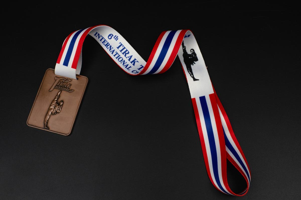 เหรียญ Tirak Taekwondo 6'