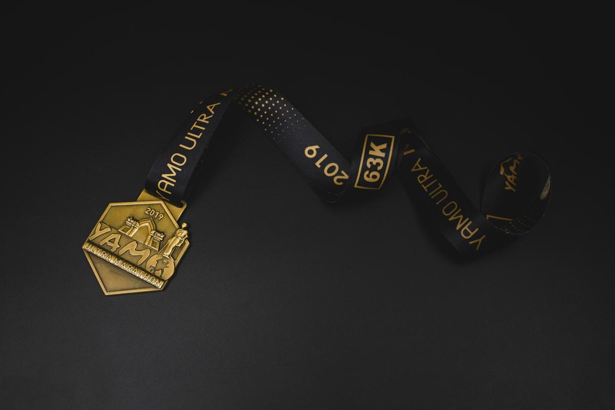 เหรียญ Yamo Ultra Marathon